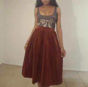 Dresses & Skirts - Velvet feel skirt